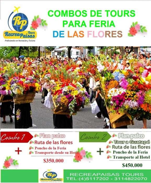 Tours y Paquetes en Feria de Flores en Medellin 2019