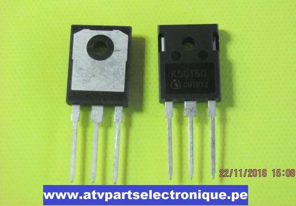 K50t60 Infineon To247 600v 50a Low Loss Duopack Igbt Transi