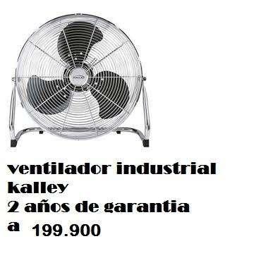 Ventilador industrial Alta potencia 2 años de garantia