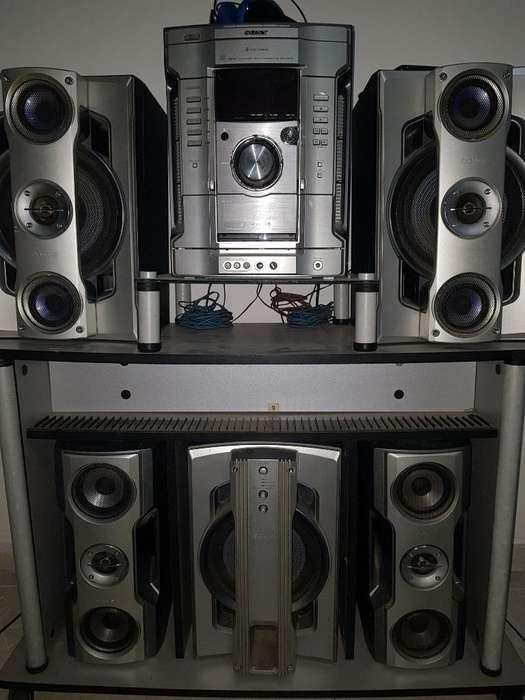 Equipo de Sonido Sony Hcd Gn800