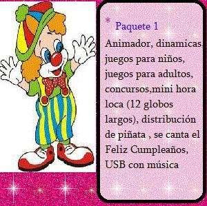 Animación de Fiestas infantiles 0986676051 - 0959040554