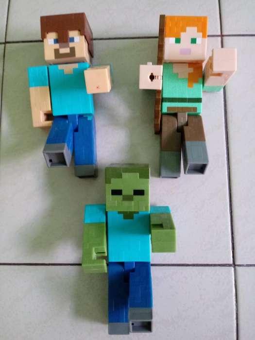 Muñecos Minecraf