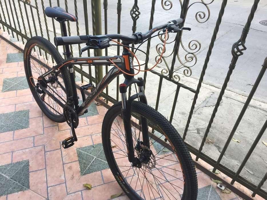 Bicicleta Marca Boston en Aluminio