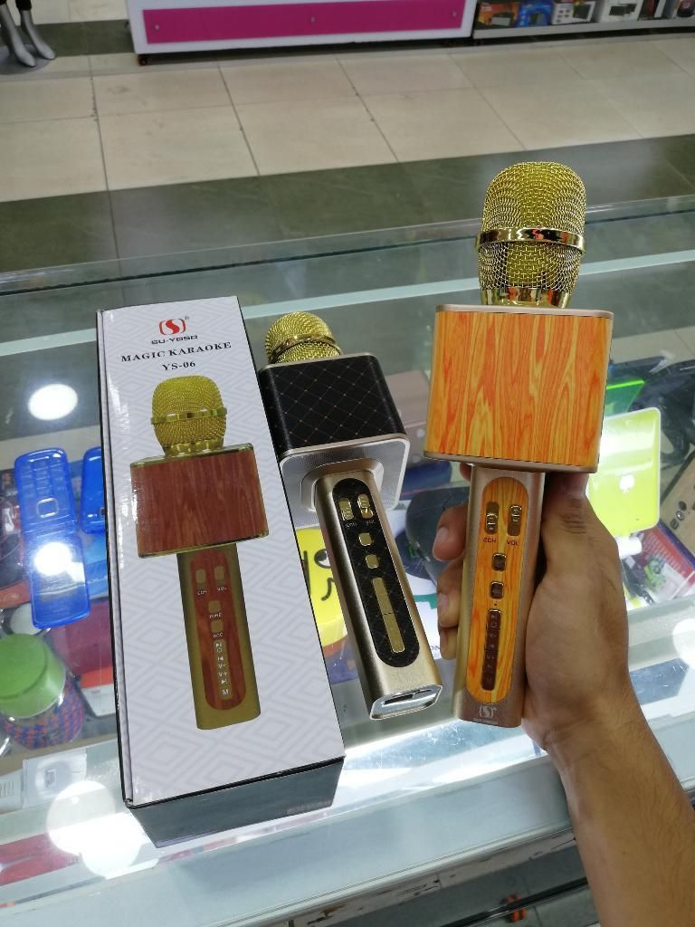 Microfono Karaoke Potable Cambia La Voz