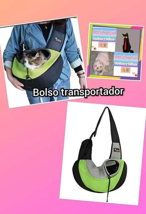 Bolso Transportador para Mascotas