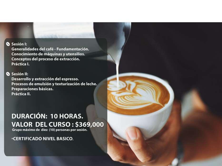 CURSOS DE BARISTA / ESCUELA DE CAFÉ / CATAS DE CAFE