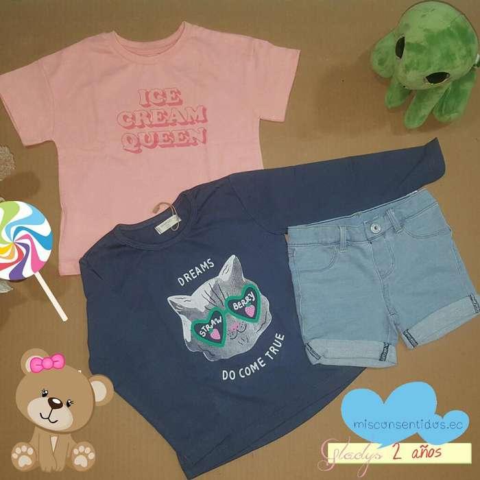 Lote de <strong>ropa</strong> Niña 2 Años