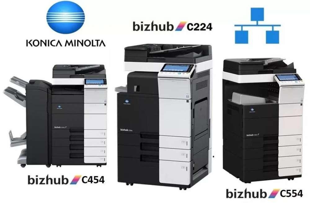 Impresora Copiadora Konica Minolta Bizhub C224