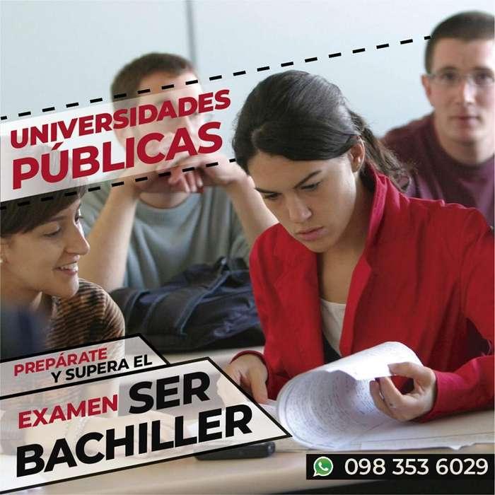 Prepárate y supera el Examen SER BACHILLER!