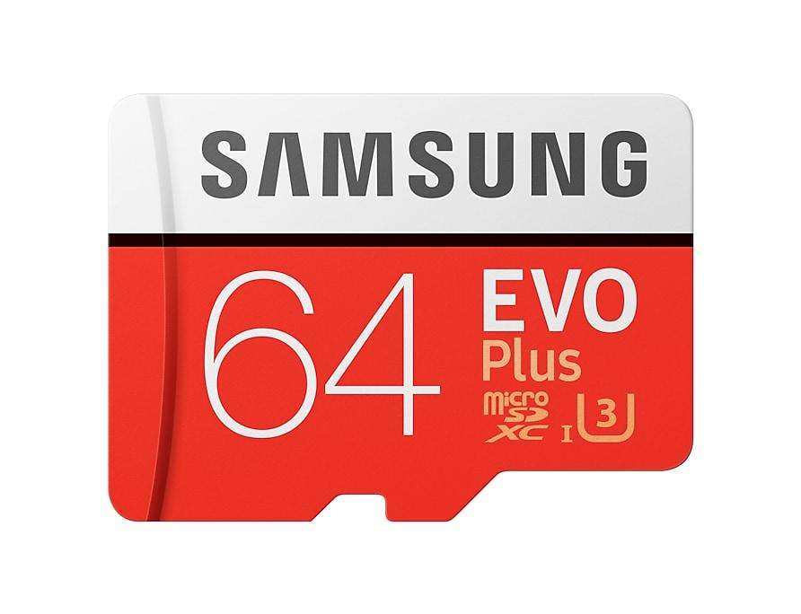 SAMSUNG tarjeta de memoria Micro SD 64 GB U3 4K SDHC SDXC grado EVO Class10 C10 UHS tarjetas TF Trans Flash microsd