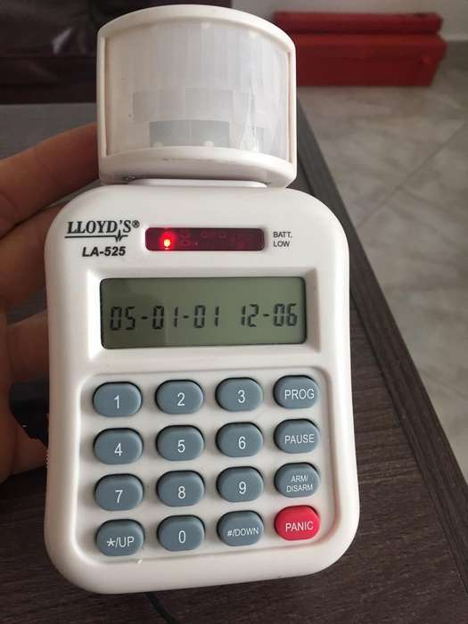Alarma de Seguridad.