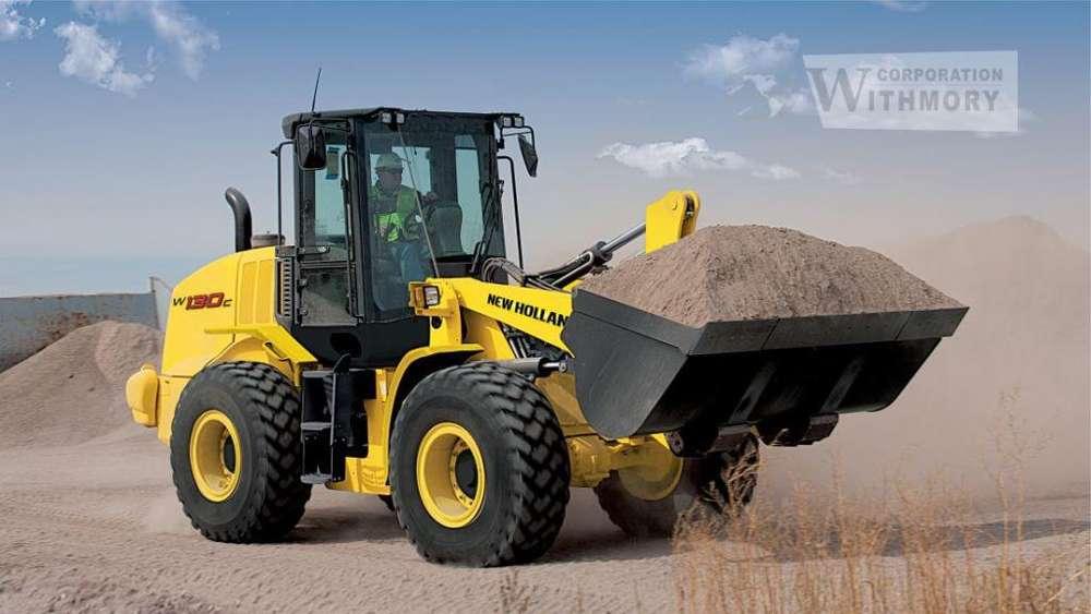 Tractor – Cargador frontal New Holland W130C.