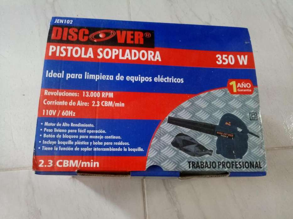 Pistola sopladora discover