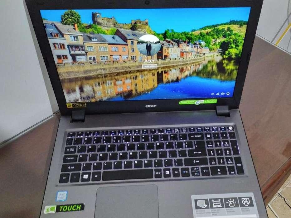 Notebook Acer 15,6'fhd I7 8gb 1tb Tactil
