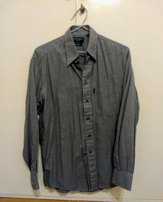 Camisa Manga Larga Cardin T38 Hombre