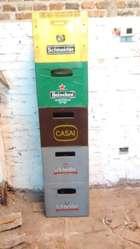 Cajones de cerveza (marcas varias)