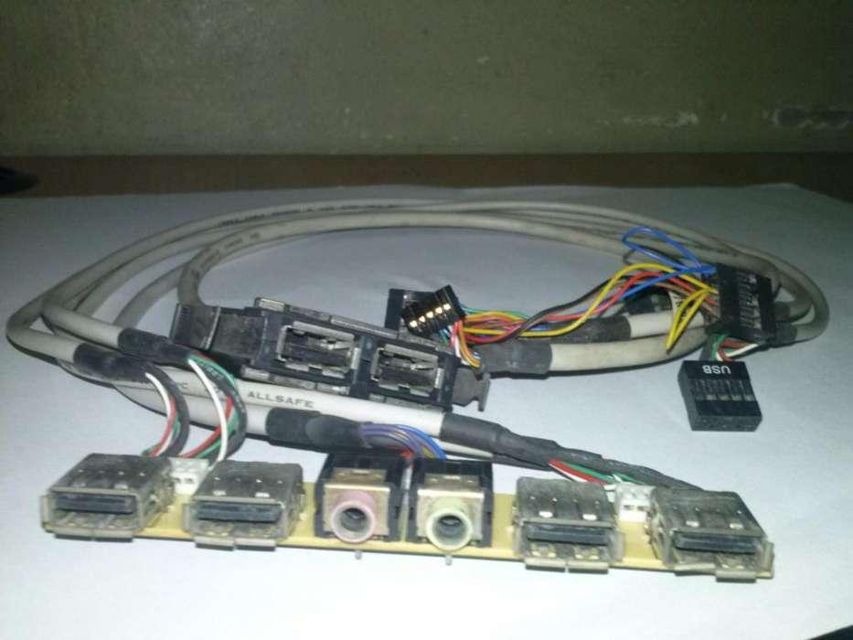 Cableado Usb Audio Marca Dell