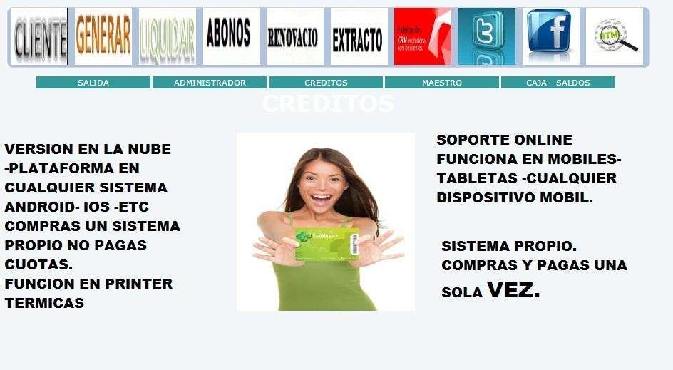 Software para programa celular Cobrador Prestamistas
