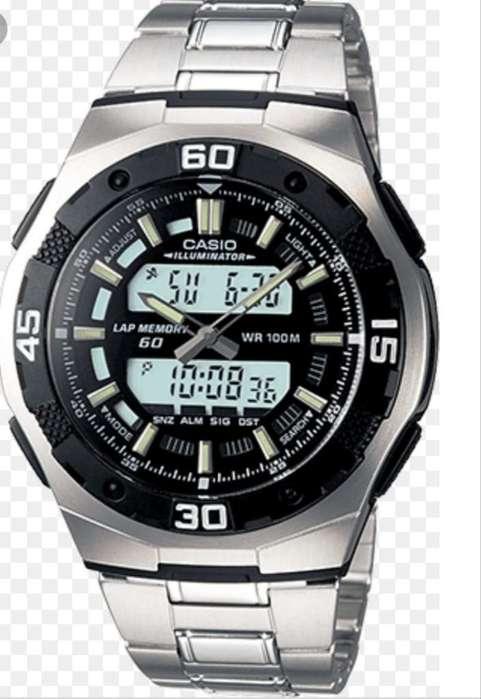 Reloj Casio Dual Time