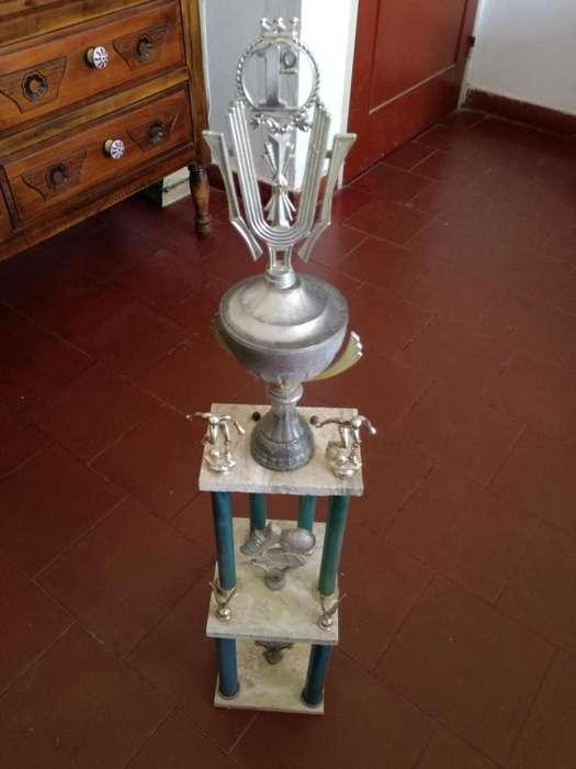 Trofeo primer premio de fútbol