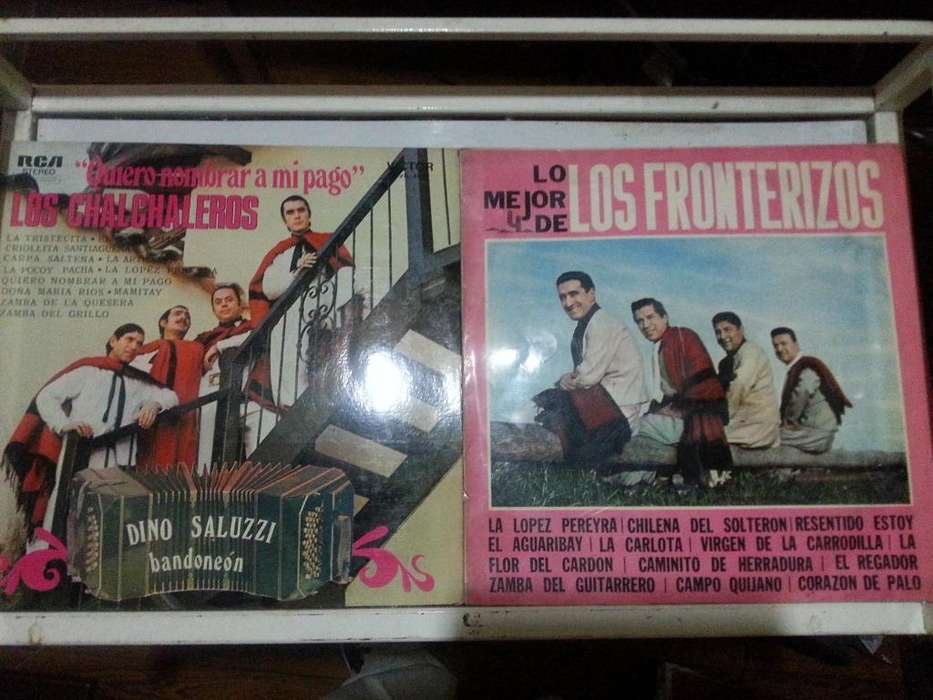 4 LP vinilo de folclore del 70