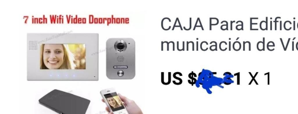 WIFI BOX PARA INTERCOMUNICADOR VIA SMARTPHONE