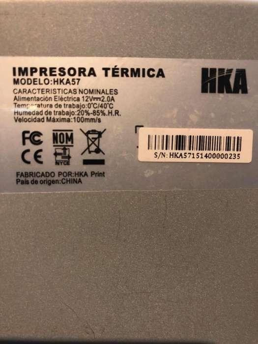 Impresora térmica HKA