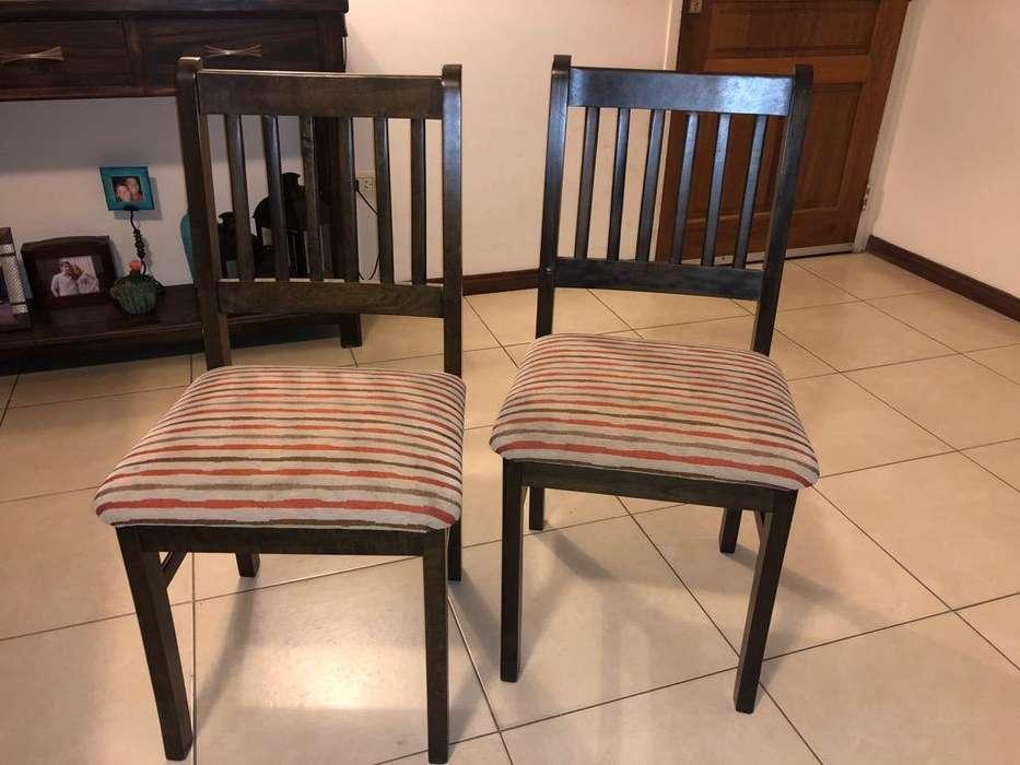 Juego de 6 <strong>silla</strong>s de Guatambu
