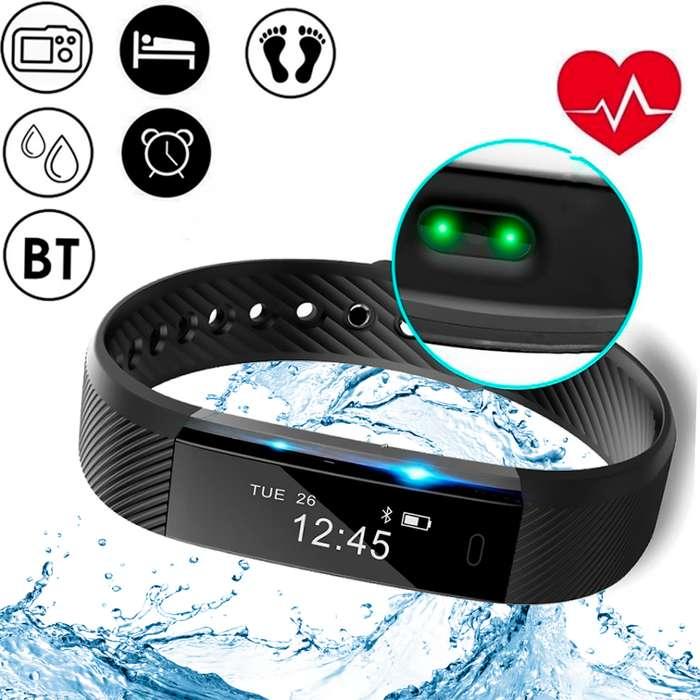 Smartwatch ID115HR Pulsera Inteligente Envio Contraentrega