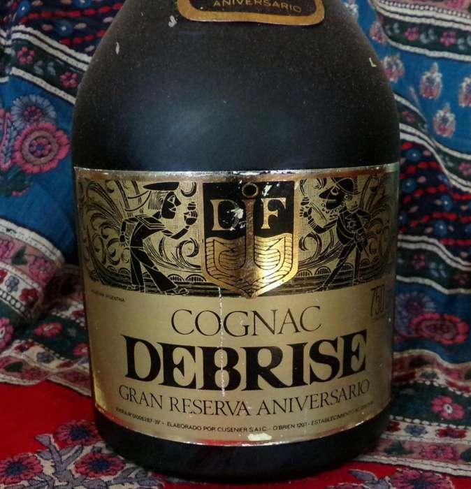 Cognac Debrise Década del 70 Gran Reserva alta calidad