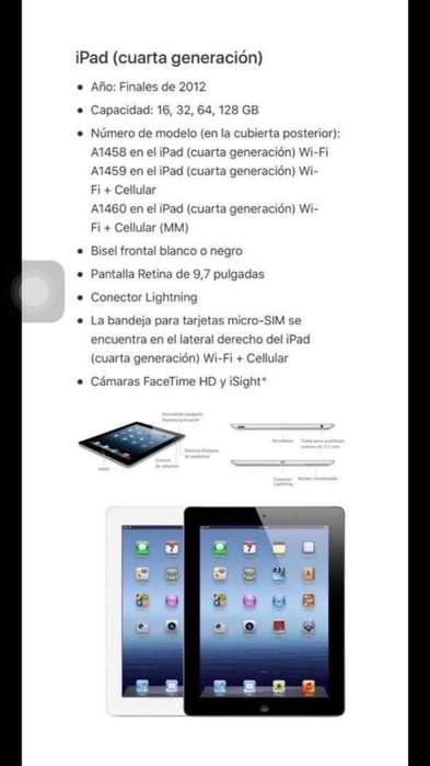 Vendo iPad 4