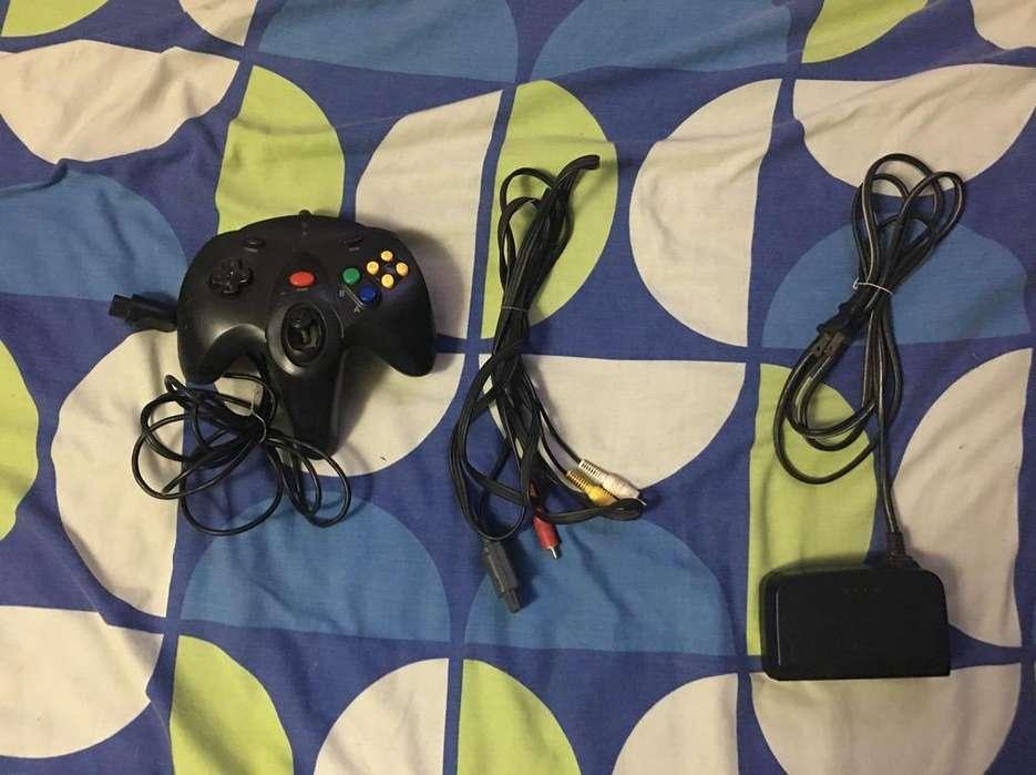 Nintendo64 Controljuegocablevideoenergia