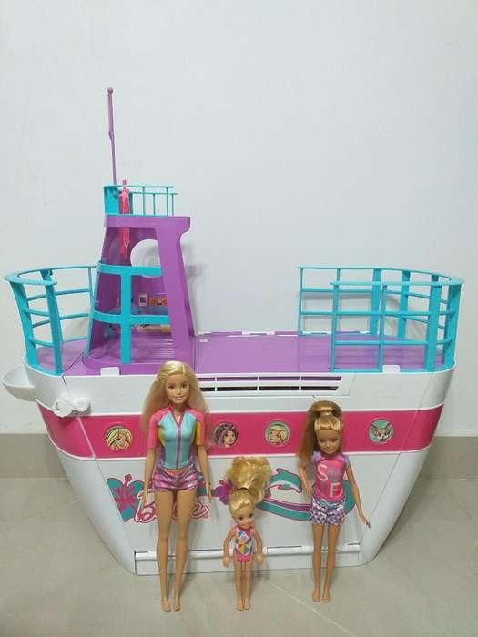 Crucero de Barbie Como Nuevo
