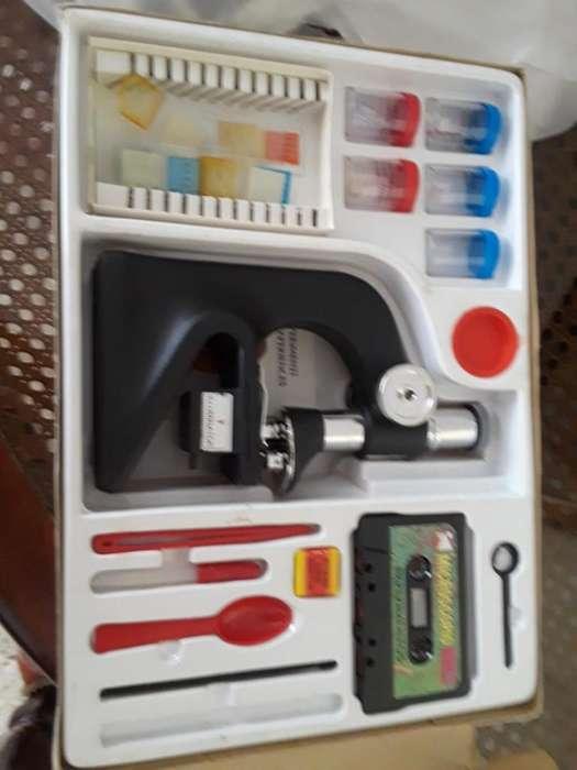 Microscopio Completo Nuevo