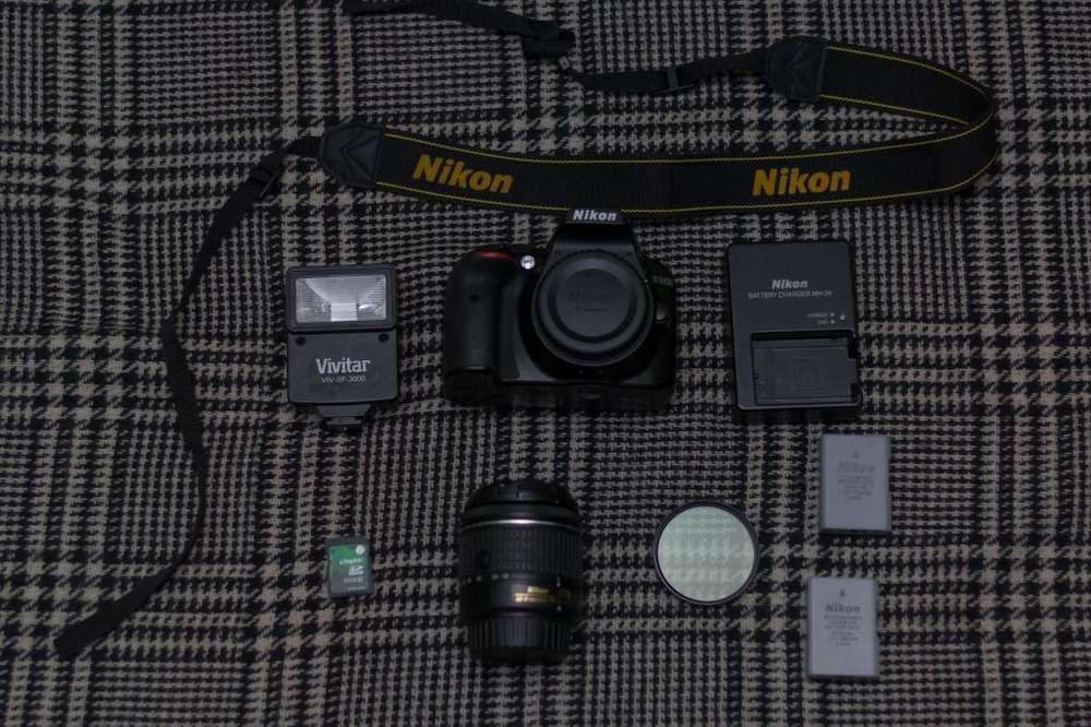 Lentes Nikon 35mm f1.8 y 70/300mm f4.5 / 6.3