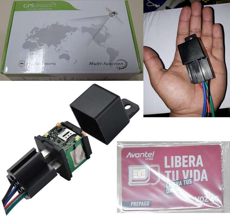 Mini Gps Tracker Moto, Carro. Apaga Motor, Simcard, App gratis