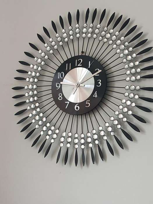 Reloj de Pared en Hierro Nuevo Elegante