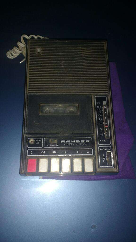 Radiograbador Vintage Ranser