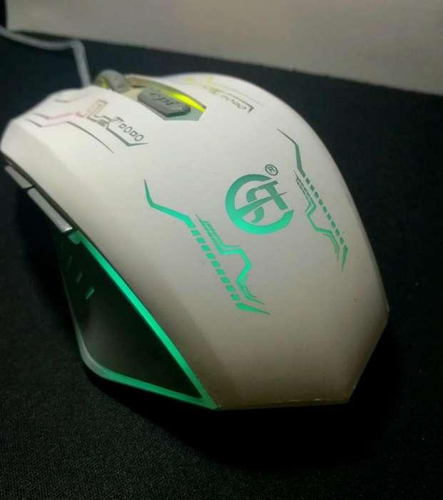 Mouse Gamer E28 Led Óptico Domicilio Gratis
