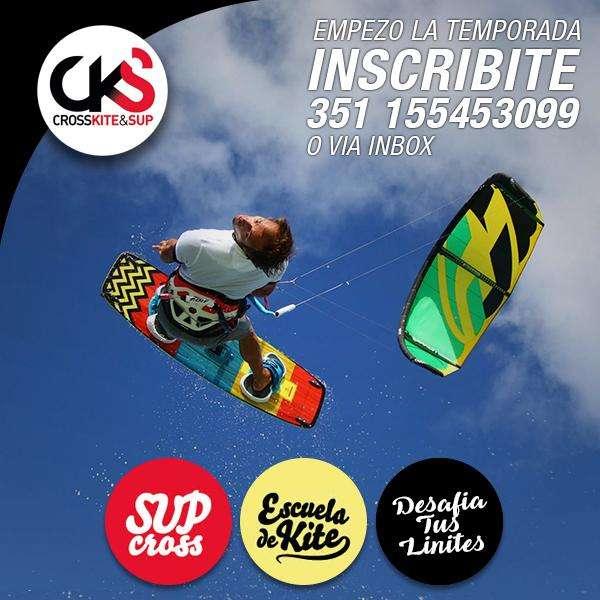 Clases de kitesurf , kite , en cordoba,