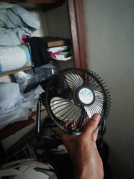 Se vende ventilador pequeo