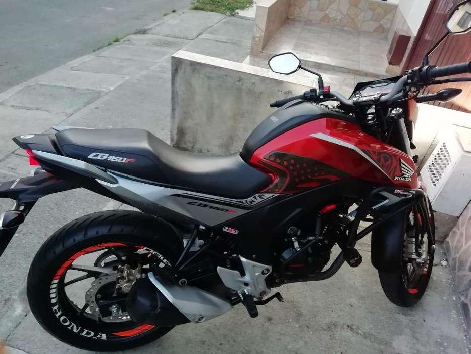 Vendo Moto Cb160 F Dlx, U. Dueñ, Palmira