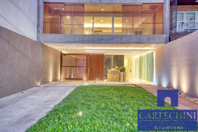 Edificio Sustentable - Depto 4 amb de Categoría con cochera, cava, baulera y domótica.