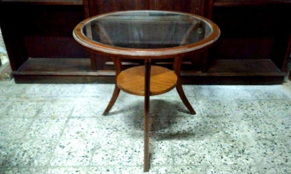 J- Hermosa Mesa Escandinava Vintage Diseño Mesita