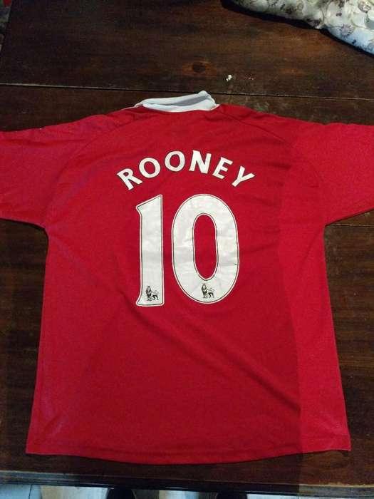 Camiseta Manchester United 9 Rooney