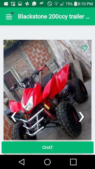 Vendo blackstone 200cc 2011 esta impecable titular y papeles al dia