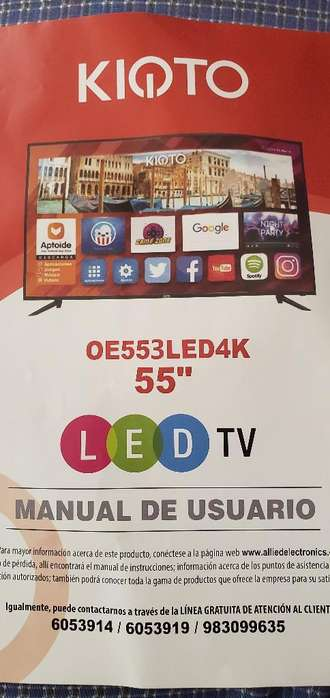 por Viaje Se Remata Smart Tv 55
