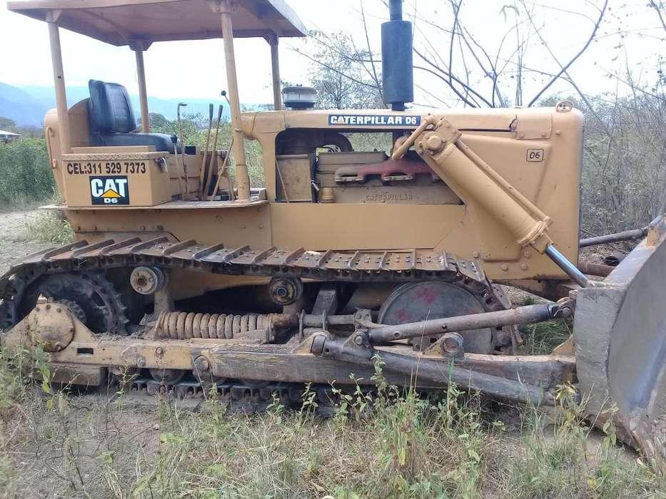 se vende bulldozer D6