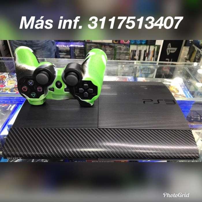 Consolas Ps3 Super Slim con Juegos