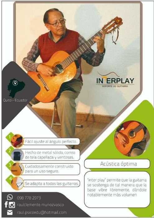 Soportes de Guitarra.